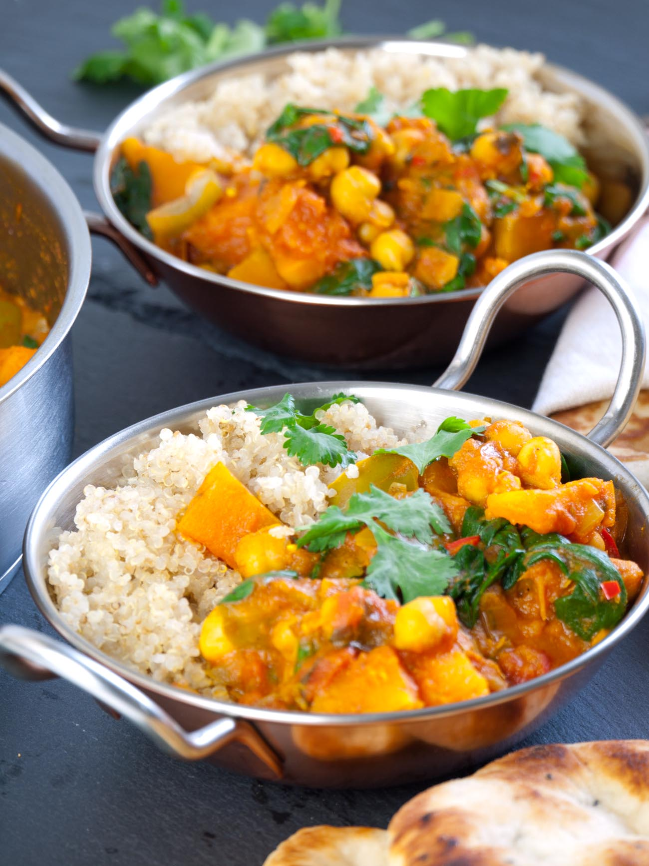 Caribbean Chicken Curry With Butternut Squash And Red Bell Pepper ...