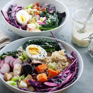 Spring Nourish Bowl - thelastfoodblog.com