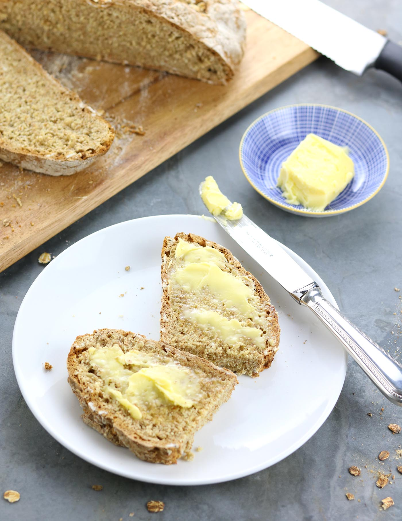 Traditional Irish Soda Bread - thelastfoodblog.com