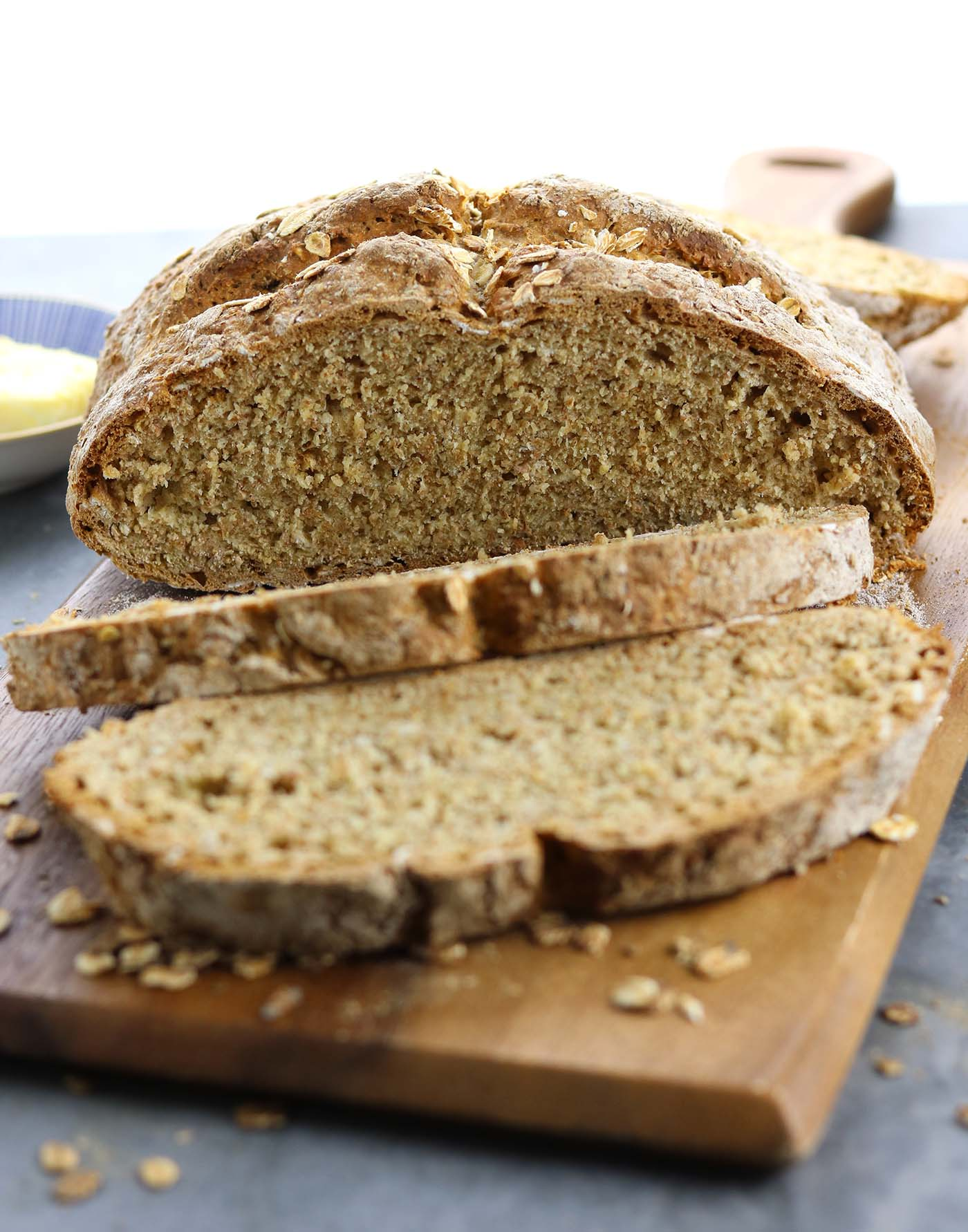 Traditional Irish Soda Bread - thelastfoodblog.com