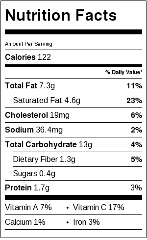 irish potato cakes nutrition