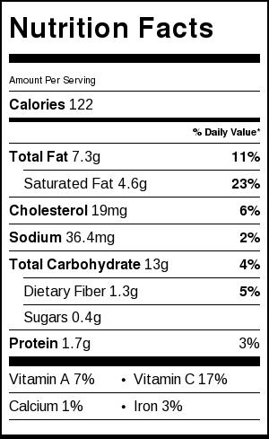 irish potato cakes nutrition