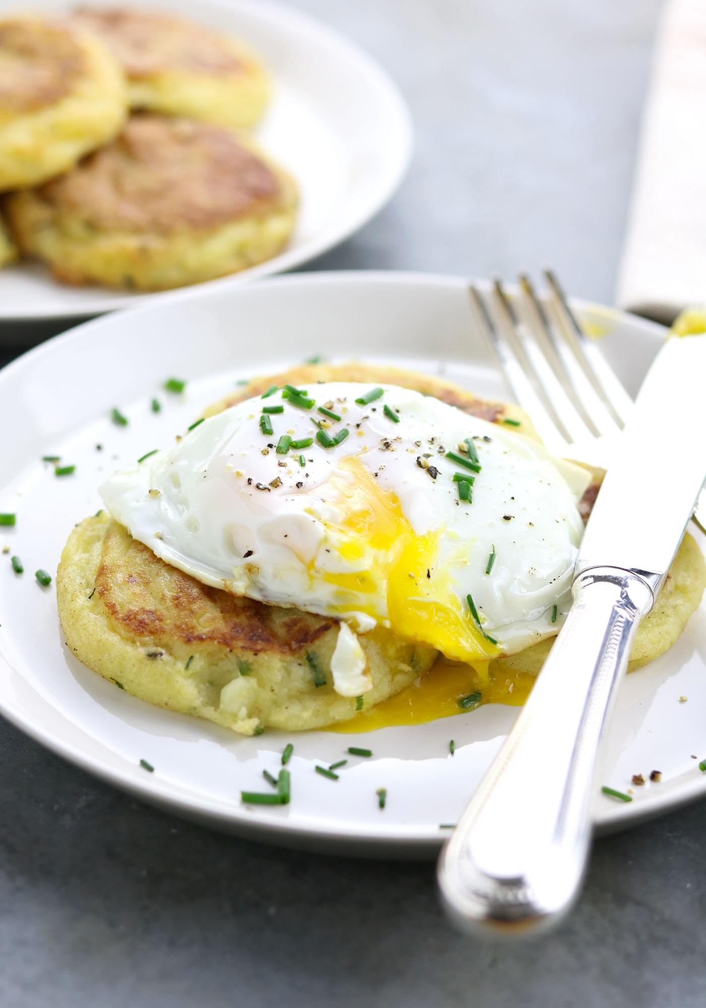Irish Potato Cakes - thelastfoodblog.com