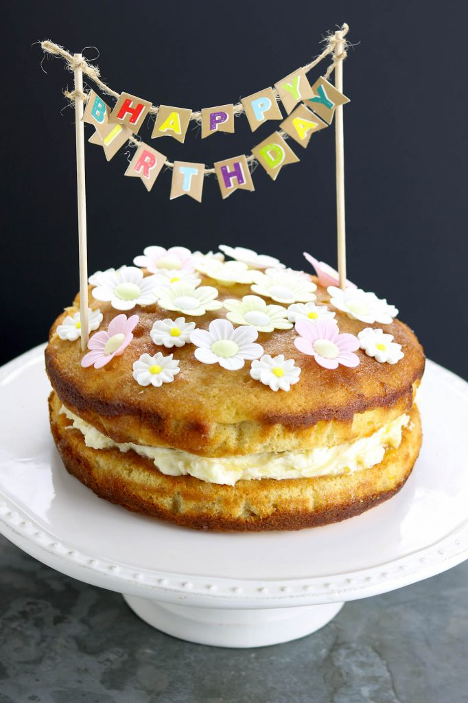 Lemon Cake With Lemon Juice Drizzle