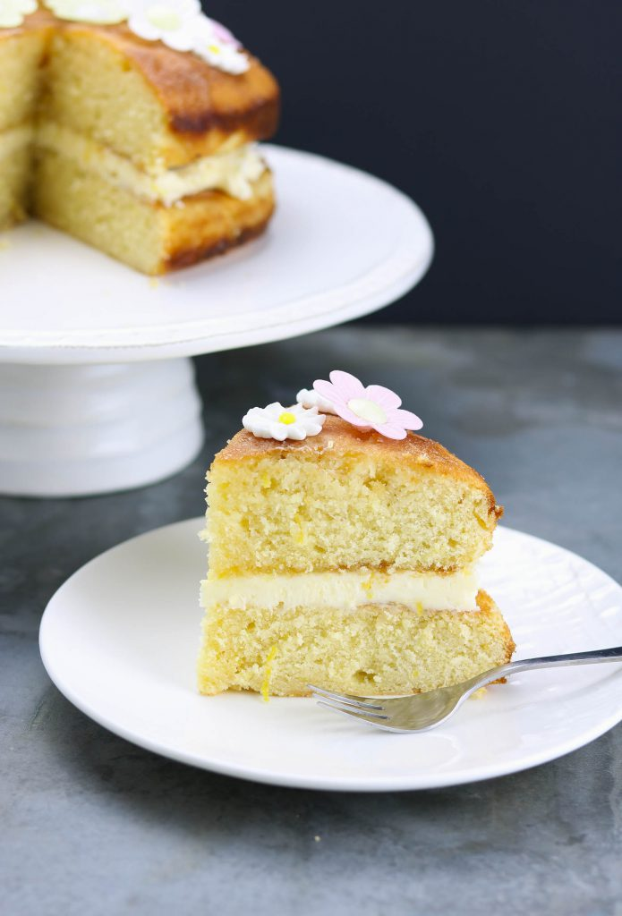Lemon Drizzle Birthday Cake - www.thelastfoodblog.com