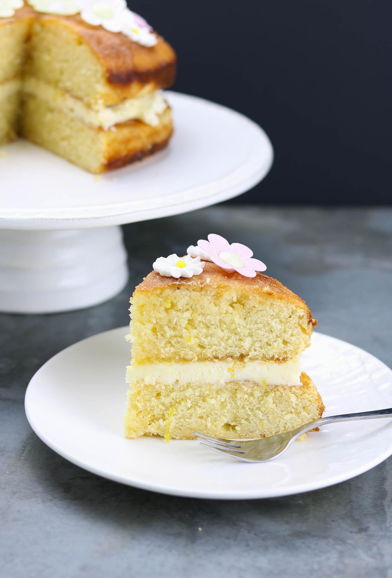 Lemon Drizzle Birthday Cake The Last Food Blog