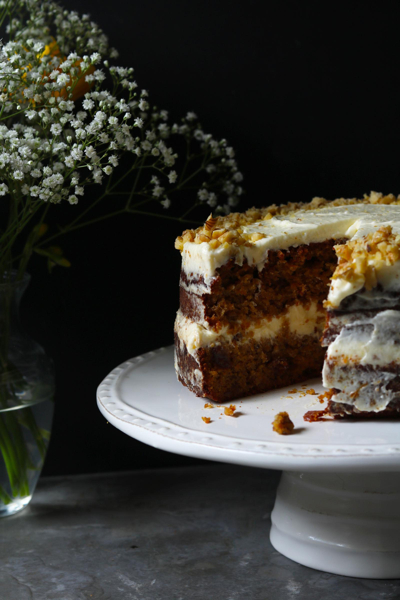 Carrot Cake with Orange Cream Cheese Frosting - The Last ...