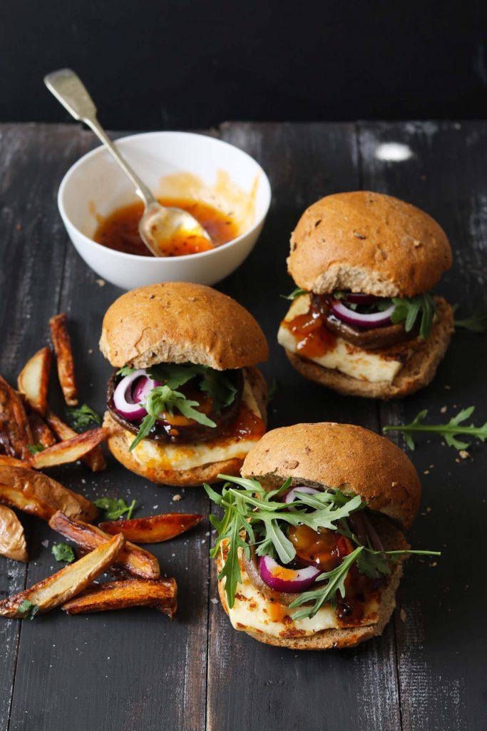 Halloumi Burger - www.thelastfoodblog.com