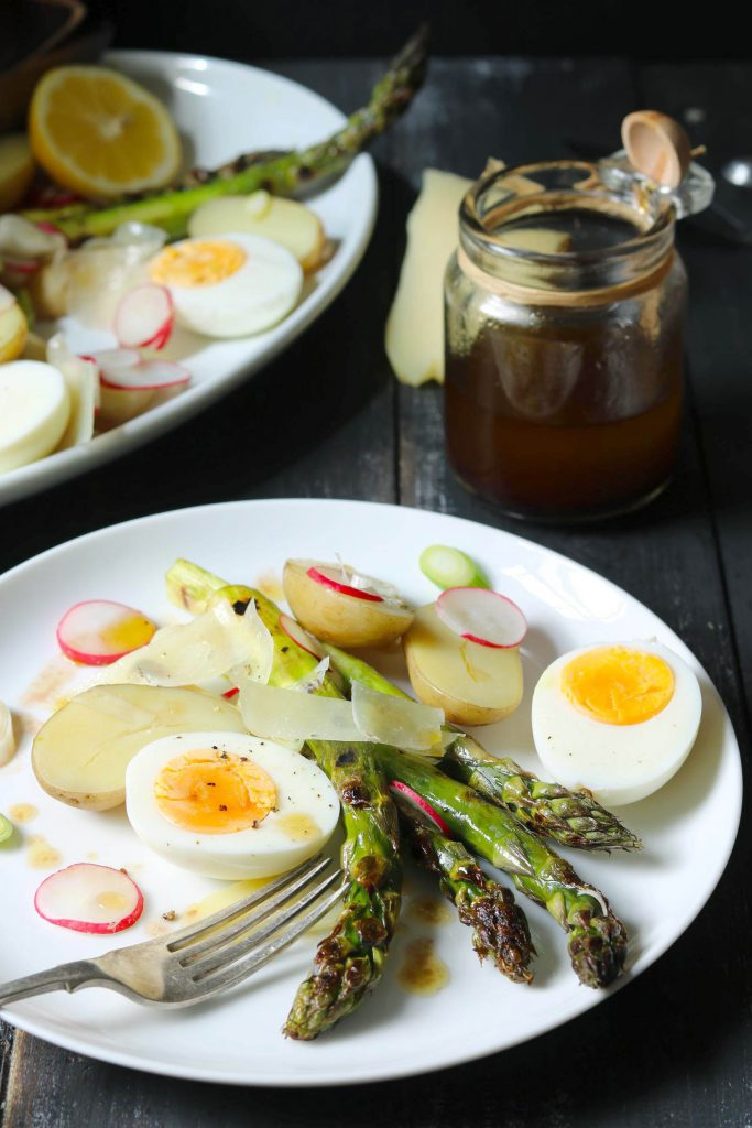 Chargrilled Asparagus Salad - www.thelastfoodblog.com