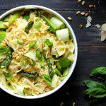 Spring Vegetable Pasta Salad - www.thelastfoodblog.com