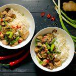 Spicy Chicken & Asparagus Stir Fry - www.thelastfoodblog.com