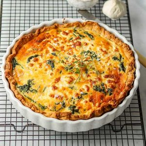 Spinach And Feta Quiche The Last Food Blog