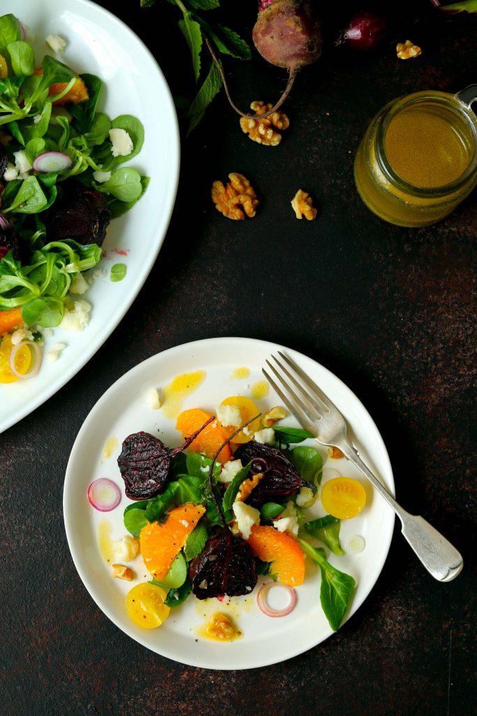 Beetroot Salad - thelastfoodblog.com