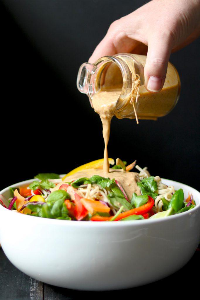 Noodle Salad - thelastfoodblog.com