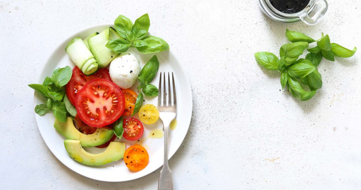 Caprese Salad with Avocado - thelastfoodblog.com