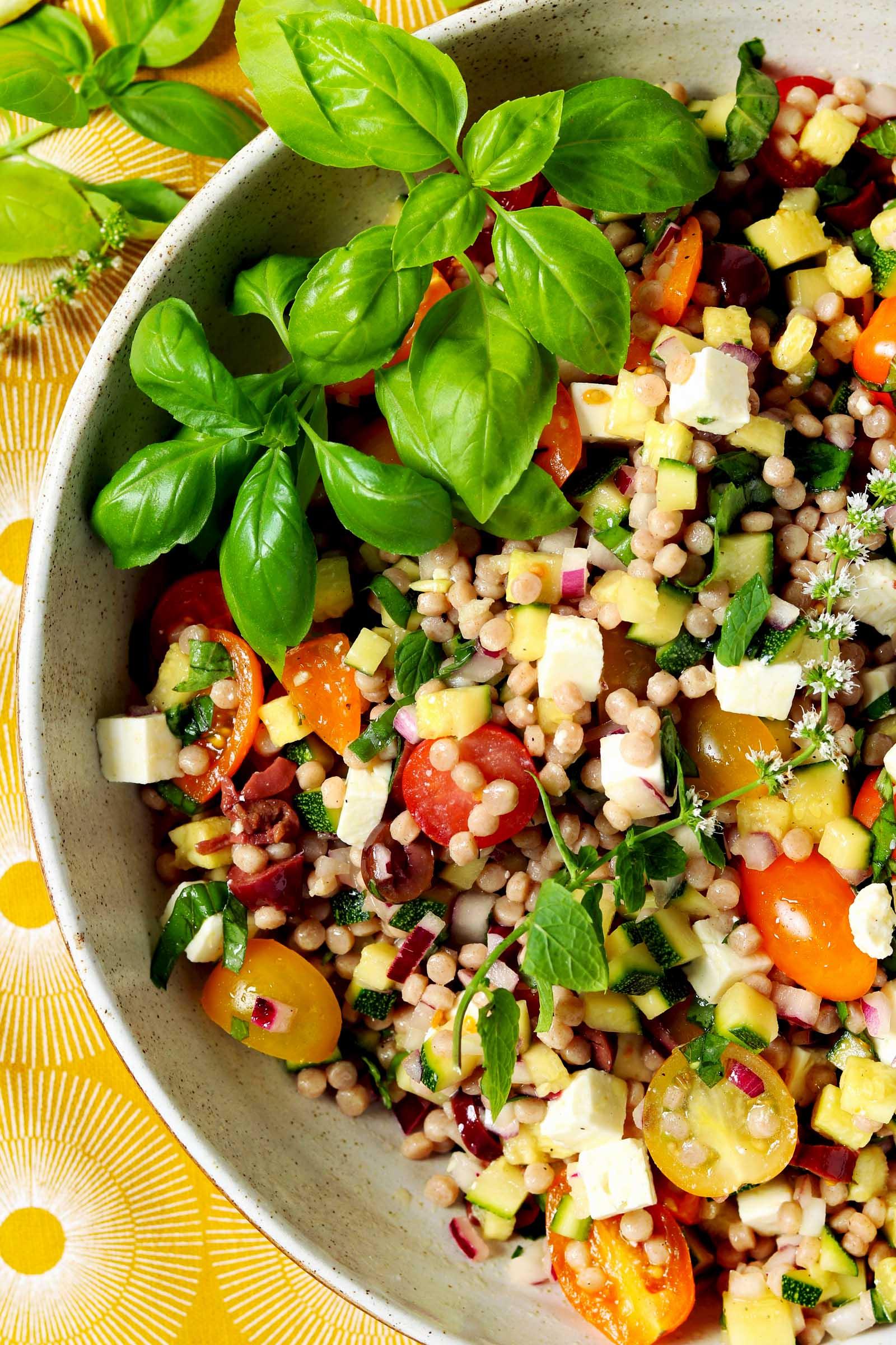 Mediterranean Couscous Salad - The Last Food Blog