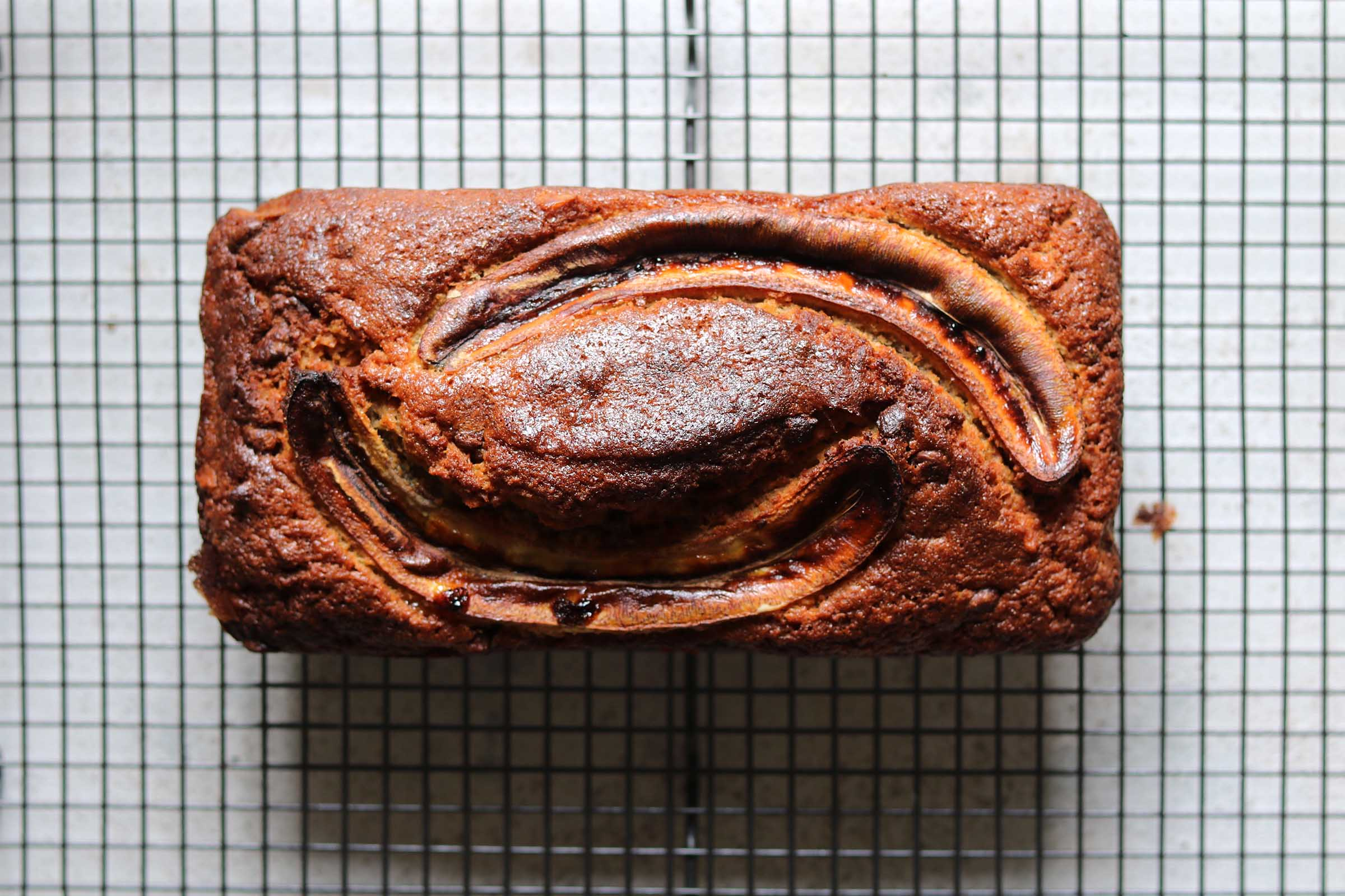 Banana Bread with Chocolate Chips and Walnuts