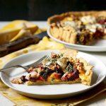 Beetroot & Goat's Cheese Tart