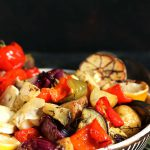 Roasted Mediterranean Vegetables with Potatoes