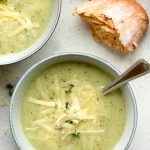 Creamy Broccoli and Cauliflower Soup
