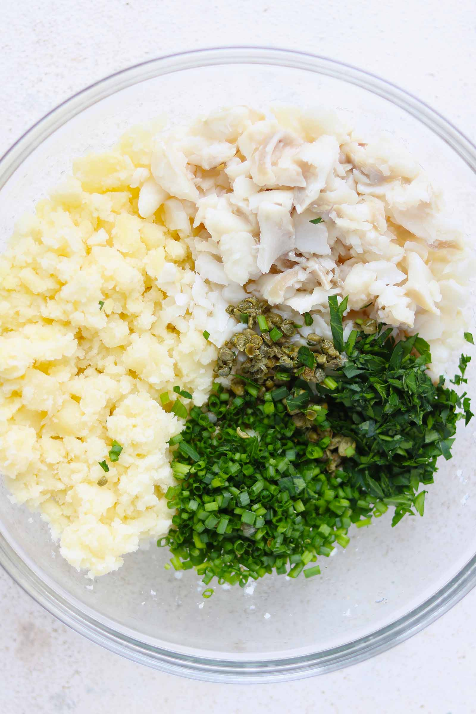 fish cake ingredients