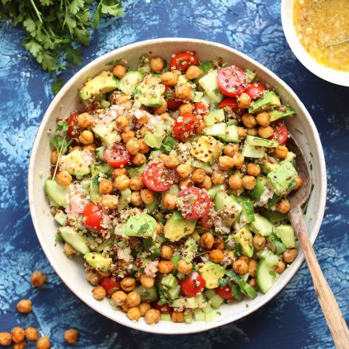 Chickpea Avocado Salad Recipe