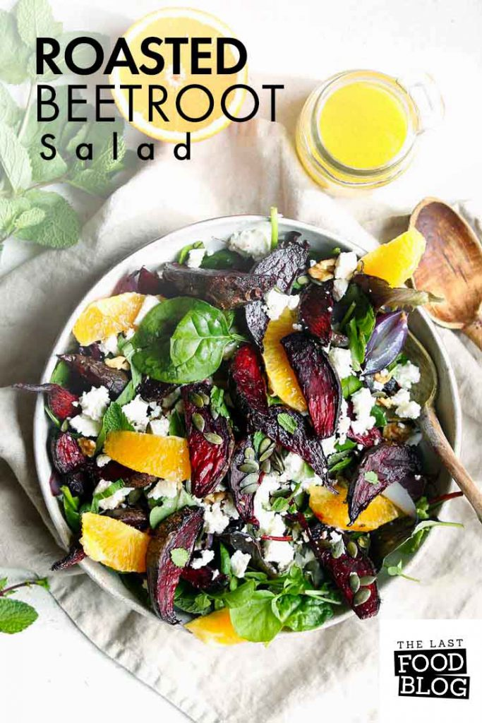 Roasted Beetroot Salad
