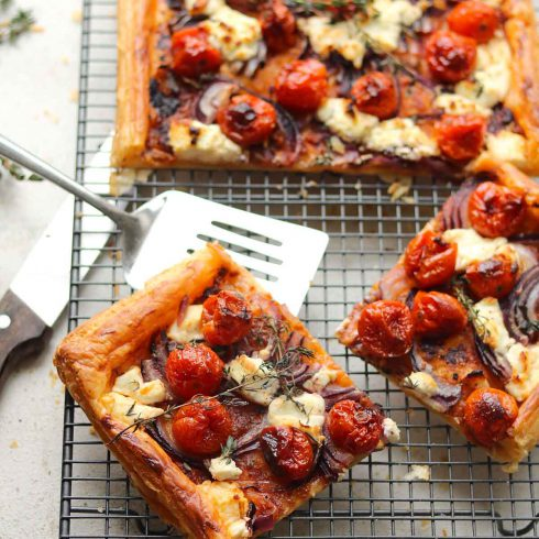 goats cheese tart
