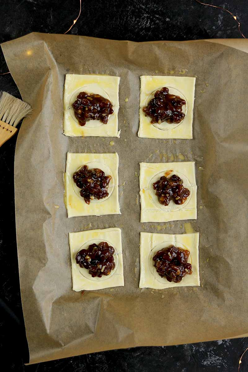 pastry with mince