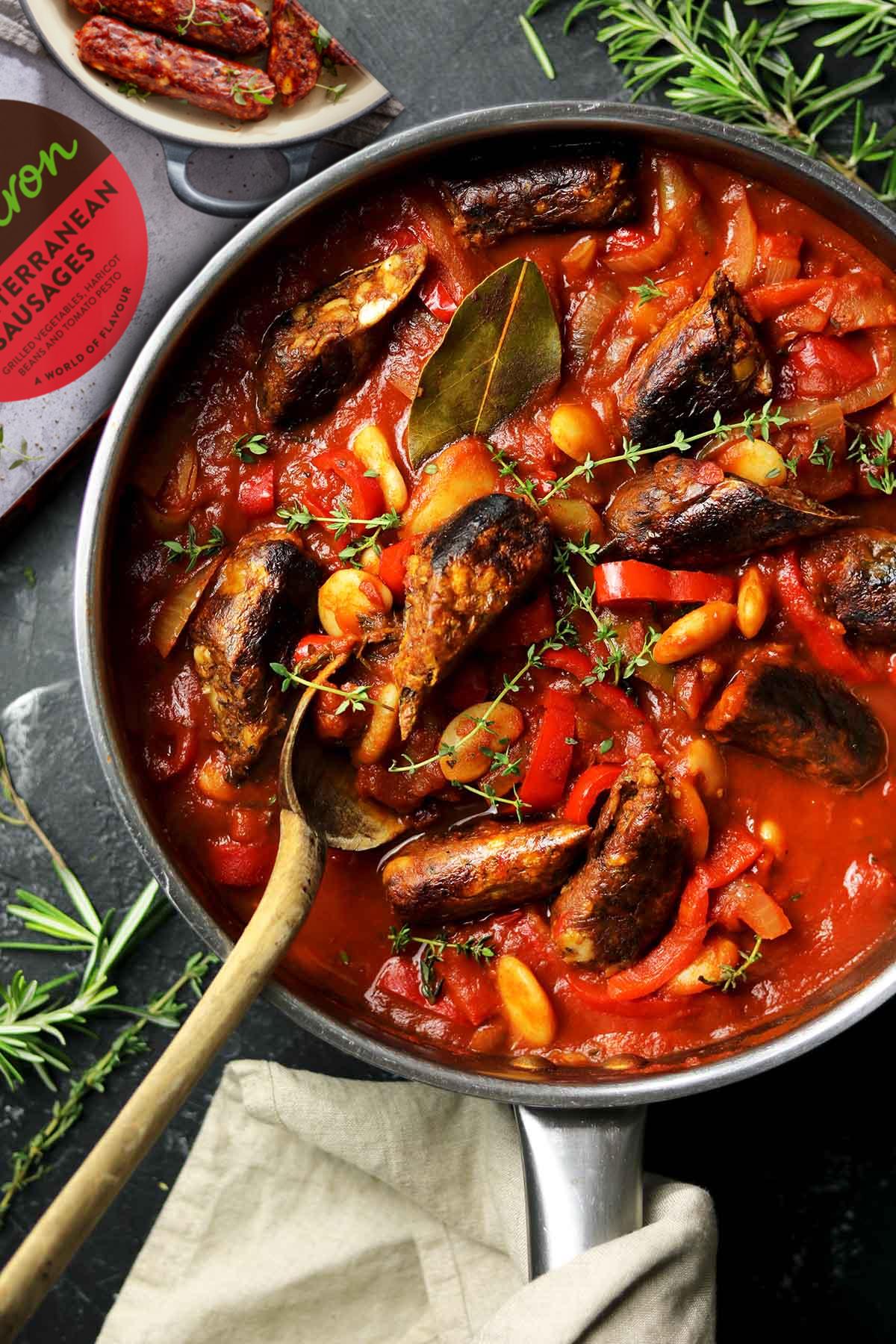 veggie sausage casserole