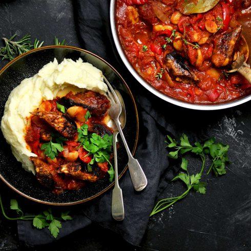 veggie sausage casserole LS