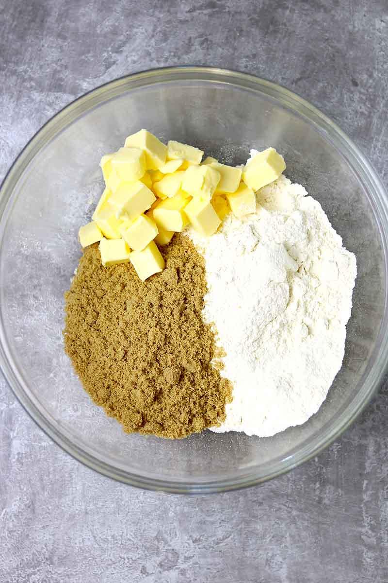 crumble mixture