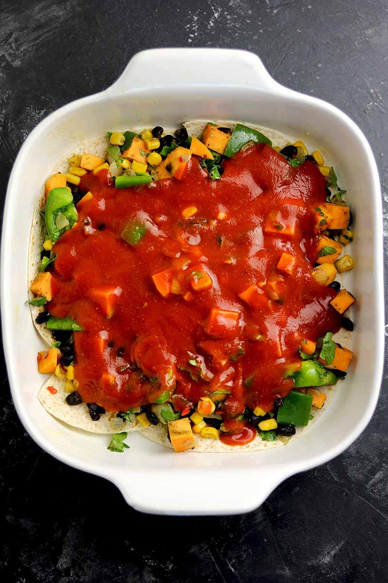 vegetarian casserole tomatos