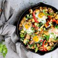 Loaded Veggie Breakfast Skillet