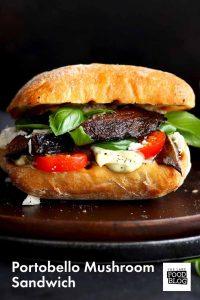Portobello Mushroom Sandwich
