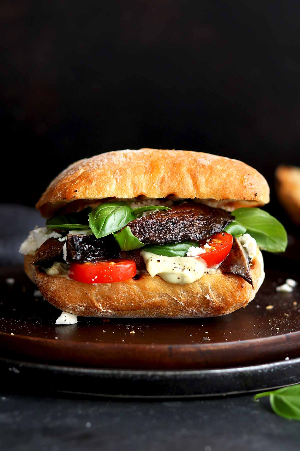 Portobello Mushroom Sandwich The Last Food Blog