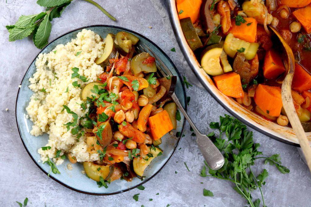 vegetable tagine landscape