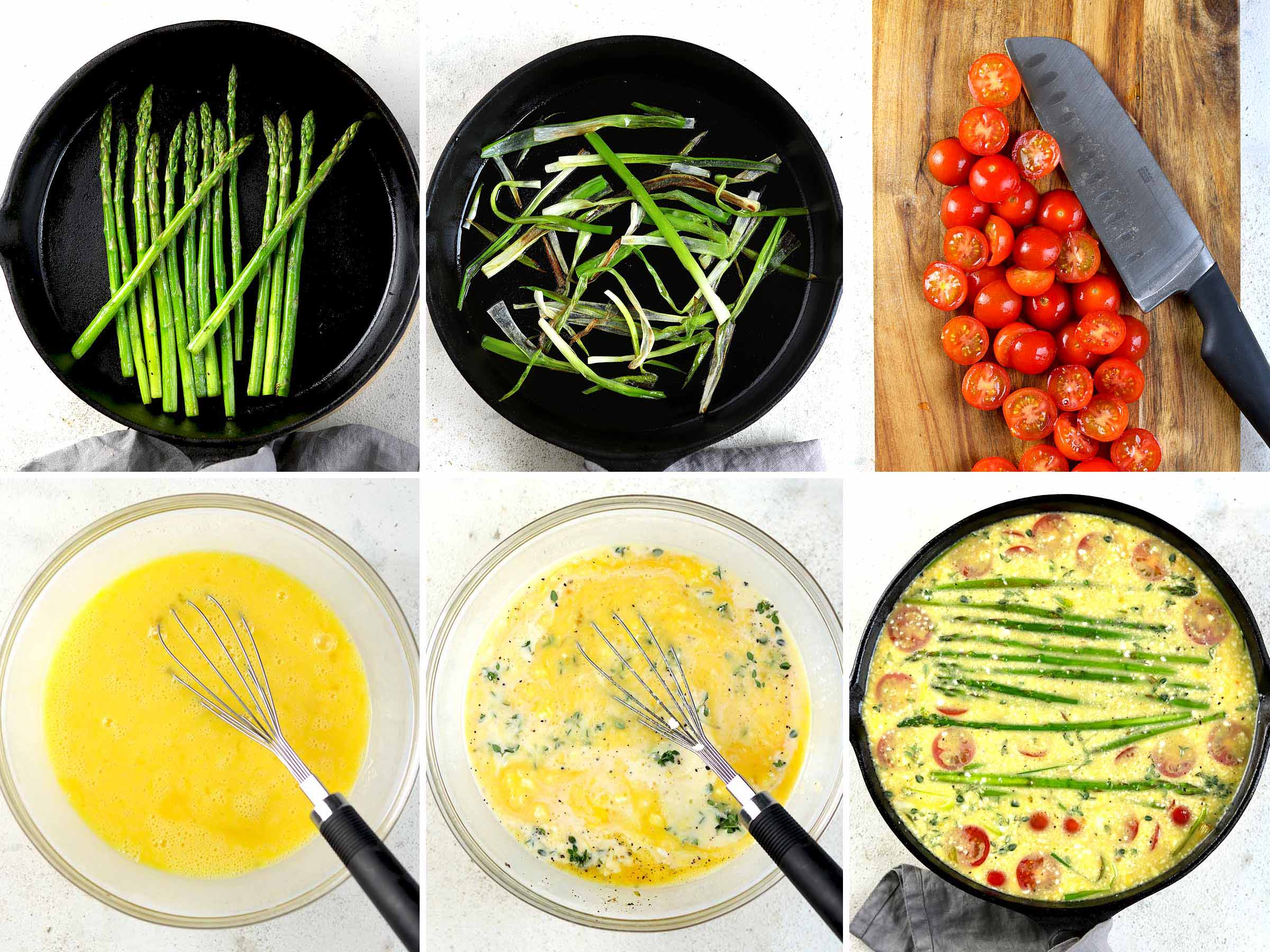 process images of steps to make recipes