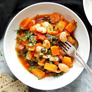 Butter bean stew