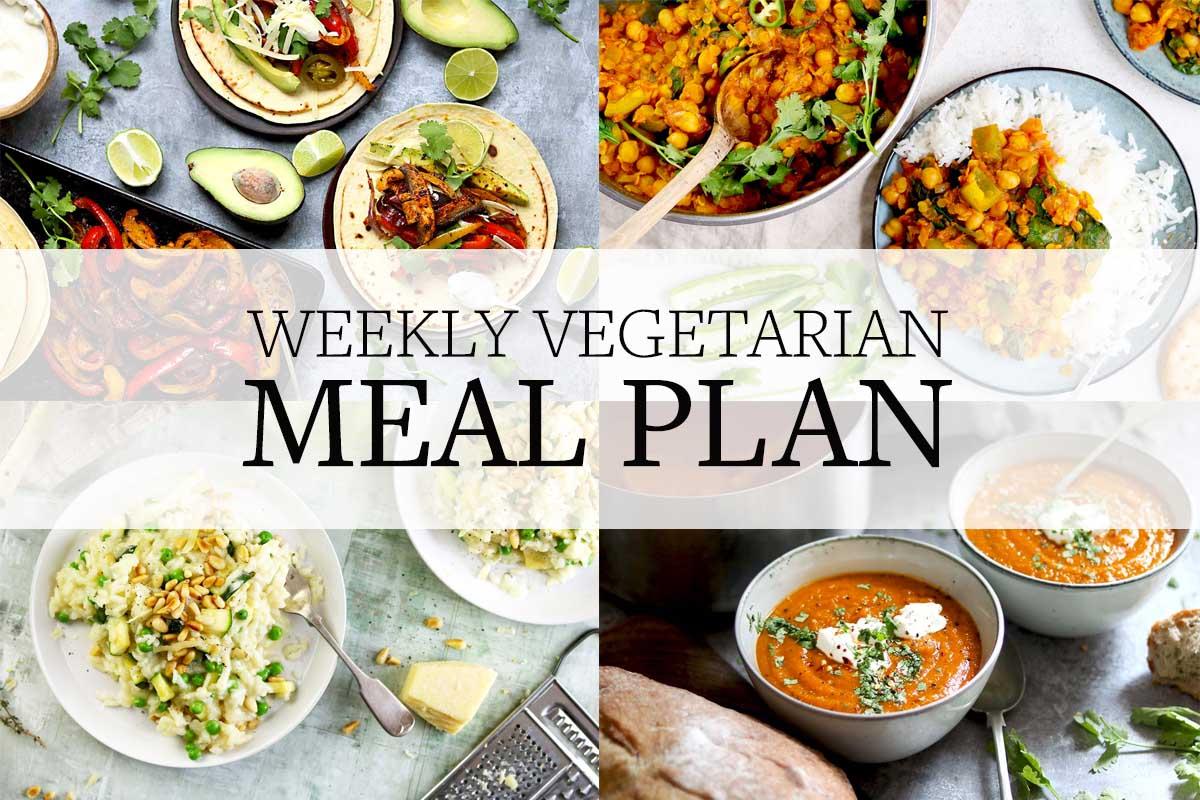 meal plan - week 1