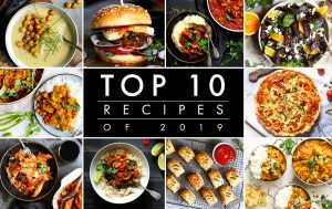 Top 10 recipes from the last food blog in 2019