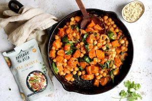 Satay Sweet Potato Curry