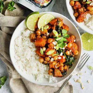 Satay Sweet Potato Curry
