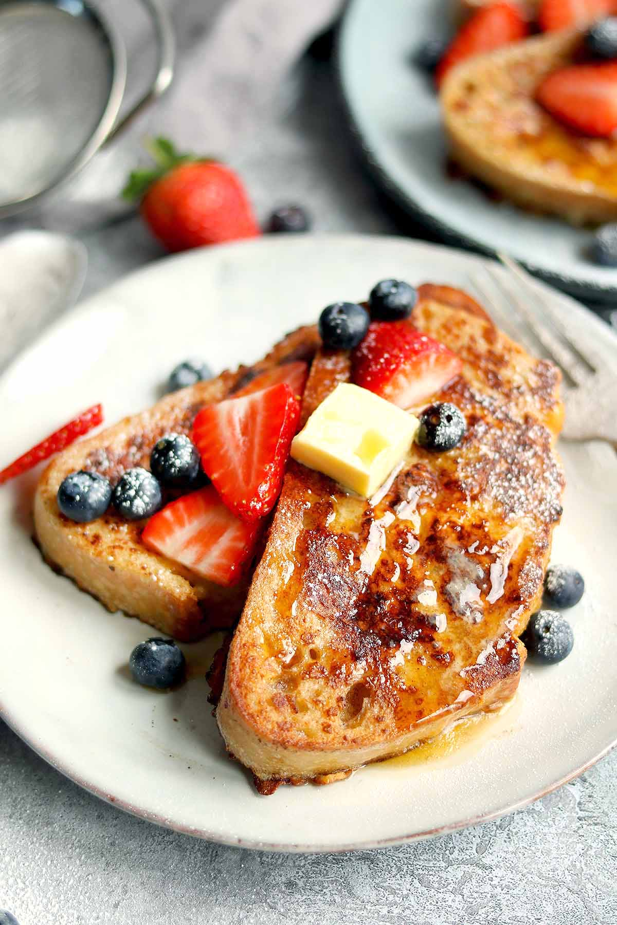 Sourdough French Toast - The Last Food Blog