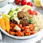 Falafel Bowls with Tahini Sauce
