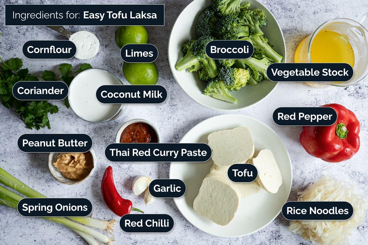 Ingredients for this Tofu recipe