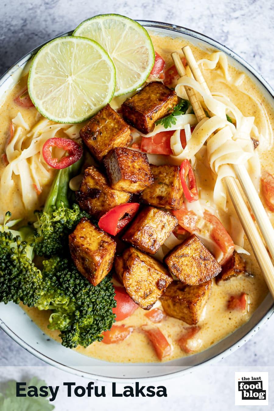 Easy Tofu Laksa