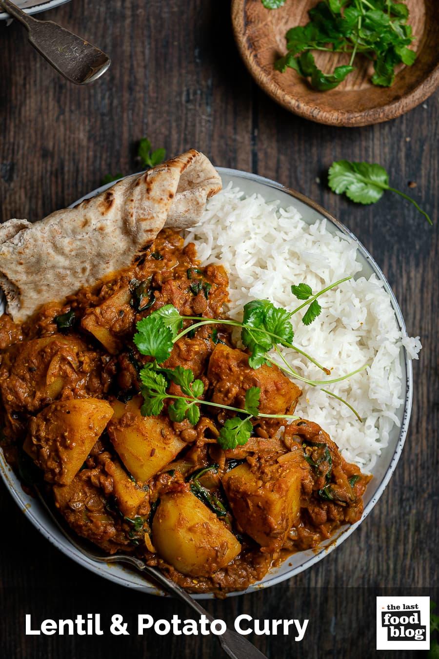 Lentil Potato Curry